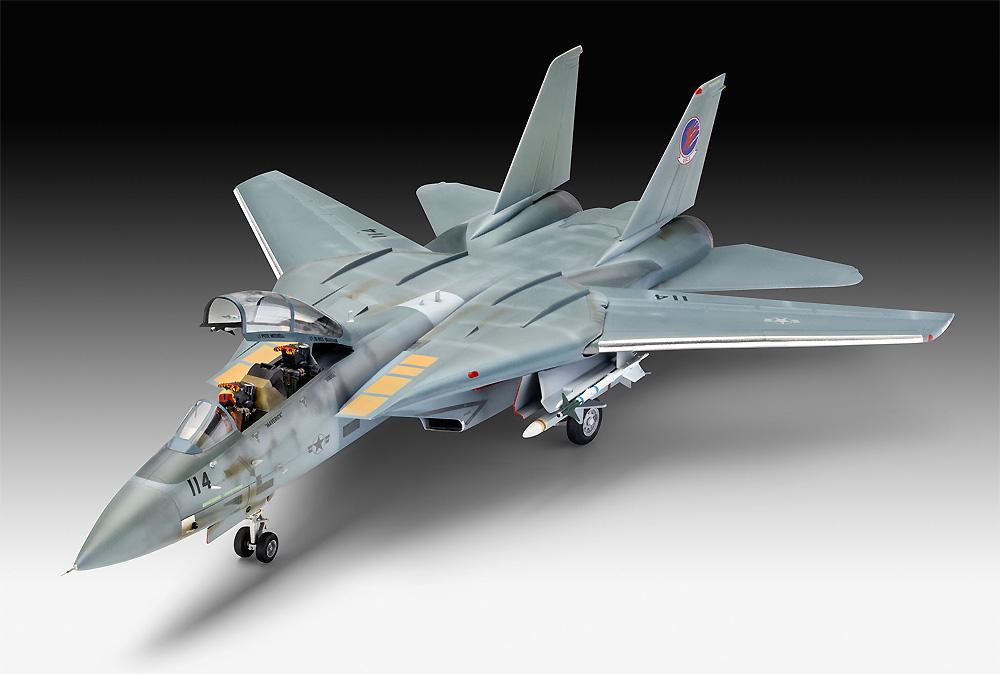 トップガン マーヴェリック F-14A トムキャットプラモデル(レベル1/48 飛行機モデルNo.03865)商品画像_2