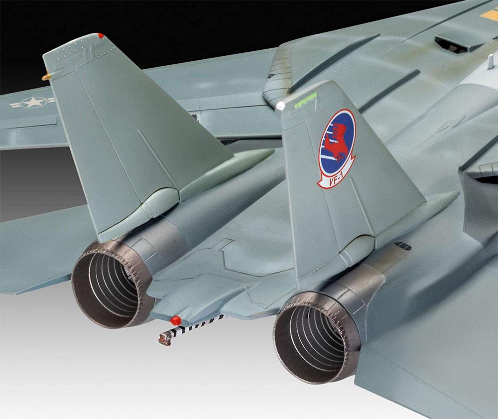 トップガン マーヴェリック F-14A トムキャットプラモデル(レベル1/48 飛行機モデルNo.03865)商品画像_4