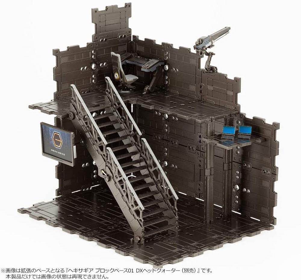 ブロックベース 02 パネルオプション Aプラモデル(コトブキヤヘキサギア ブロックベースNo.HG058)商品画像_3