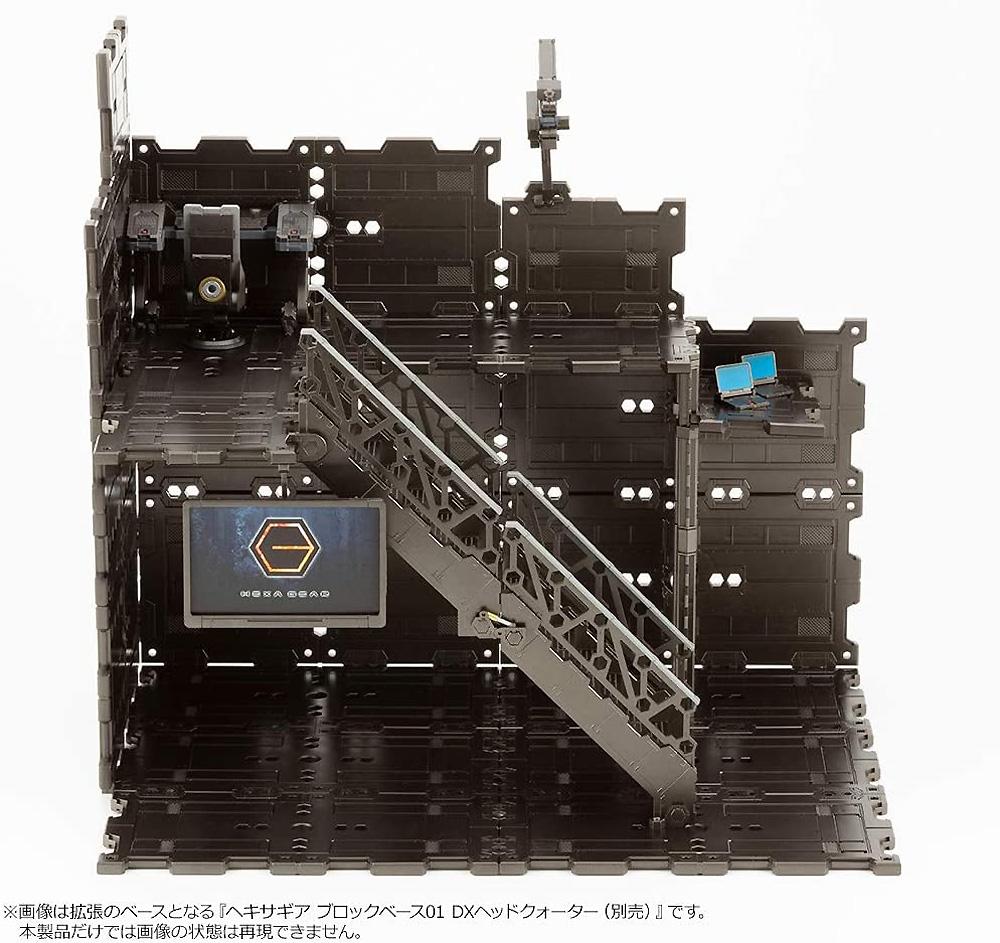 ブロックベース 02 パネルオプション Aプラモデル(コトブキヤヘキサギア ブロックベースNo.HG058)商品画像_4