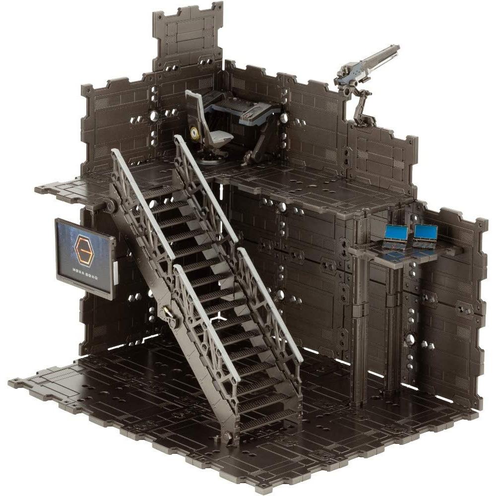 ブロックベース 01 DXヘッドクォータープラモデル(コトブキヤヘキサギア ブロックベースNo.HG060)商品画像_2