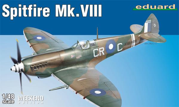 スピットファイア Mk.8プラモデル(エデュアルド1/48 ウィークエンド エディションNo.84159)商品画像