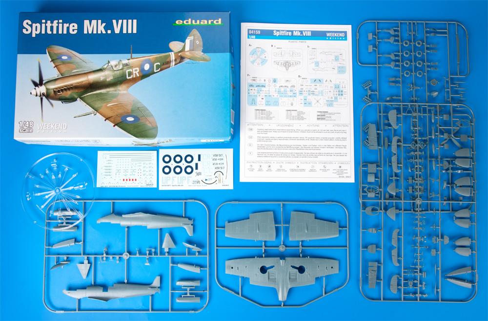 スピットファイア Mk.8プラモデル(エデュアルド1/48 ウィークエンド エディションNo.84159)商品画像_1