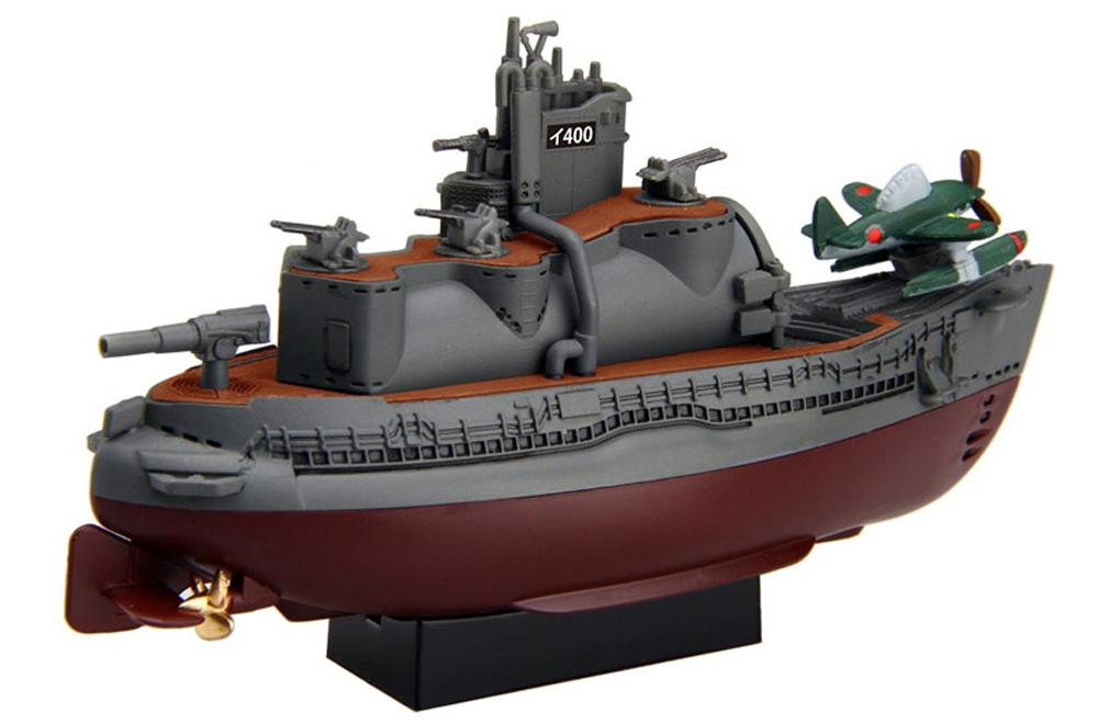 ちび丸艦隊 伊400型潜水艦 2隻セット エッチングパーツ&木甲板シール付きプラモデル(フジミちび丸艦隊 シリーズNo.ちび丸017EX-1)商品画像_3