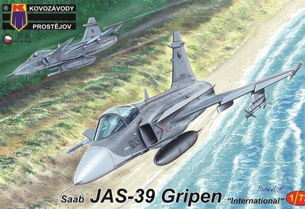 サーブ JAS-39 グリペン インターナショナルプラモデル(KPモデル1/72 エアクラフト プラモデルNo.KPM0161)商品画像