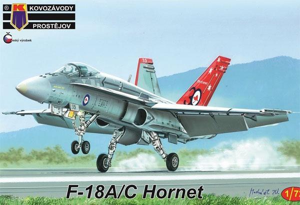 F-18A/C ホーネットプラモデル(KPモデル1/72 エアクラフト プラモデルNo.KPM0163)商品画像