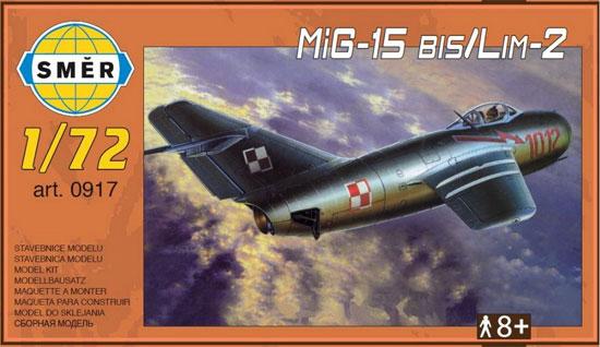 MiG-15bis / LIM-2プラモデル(スメール1/72 エアクラフト プラモデルNo.0917)商品画像