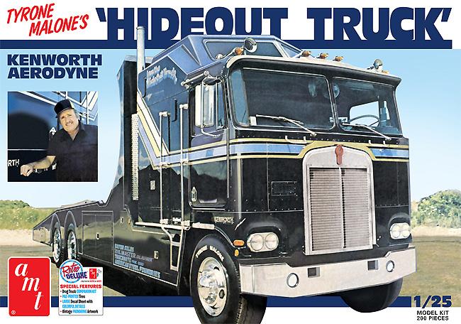 タイロン・マローン ハイドアウト トラック ケンワース エアロダインプラモデル(amt1/25 カーモデルNo.AMT1158/06)商品画像