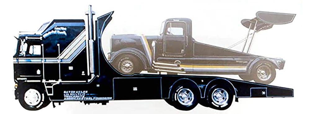 タイロン・マローン ハイドアウト トラック ケンワース エアロダインプラモデル(amt1/25 カーモデルNo.AMT1158/06)商品画像_1
