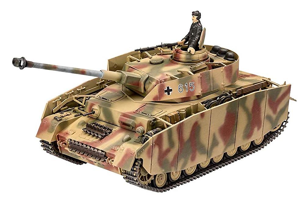 ドイツ 4号戦車H型プラモデル(レベル1/35 ミリタリーNo.03333)商品画像_1