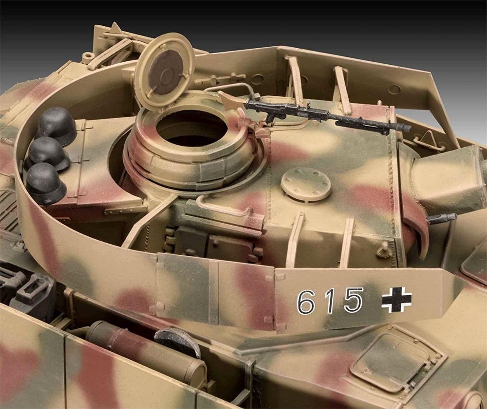 ドイツ 4号戦車H型プラモデル(レベル1/35 ミリタリーNo.03333)商品画像_2