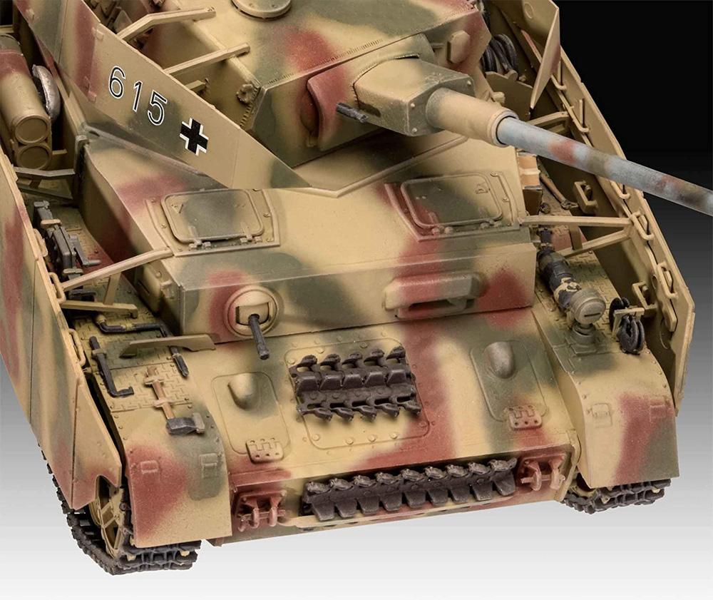 ドイツ 4号戦車H型プラモデル(レベル1/35 ミリタリーNo.03333)商品画像_3