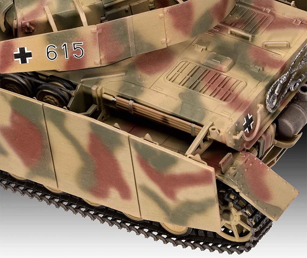 ドイツ 4号戦車H型プラモデル(レベル1/35 ミリタリーNo.03333)商品画像_4