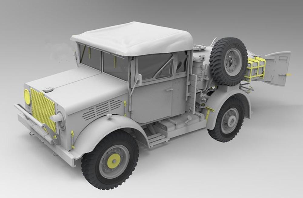 ベッドフォード MWC 15-cwt 4x2 200ガロン 給水トラック クローズキャブプラモデル(ゲッコーモデル1/35 ミリタリーNo.35GM0024)商品画像_2