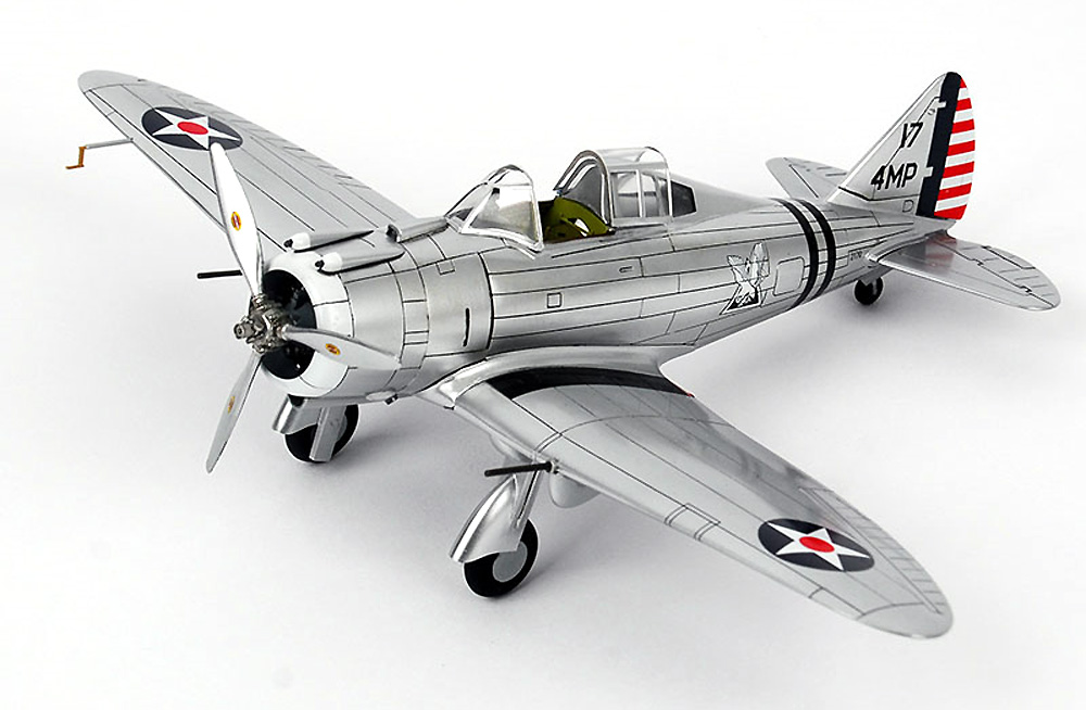 セバスキー P-35A USAAFプラモデル(ウルフパックウルフパックデザイン プレミアムエディションキットNo.WP14808)商品画像_4