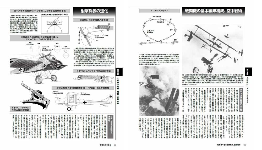 WW2 大戦機 メカニズム図鑑本(イカロス出版イカロスムックNo.61857-01)商品画像_4