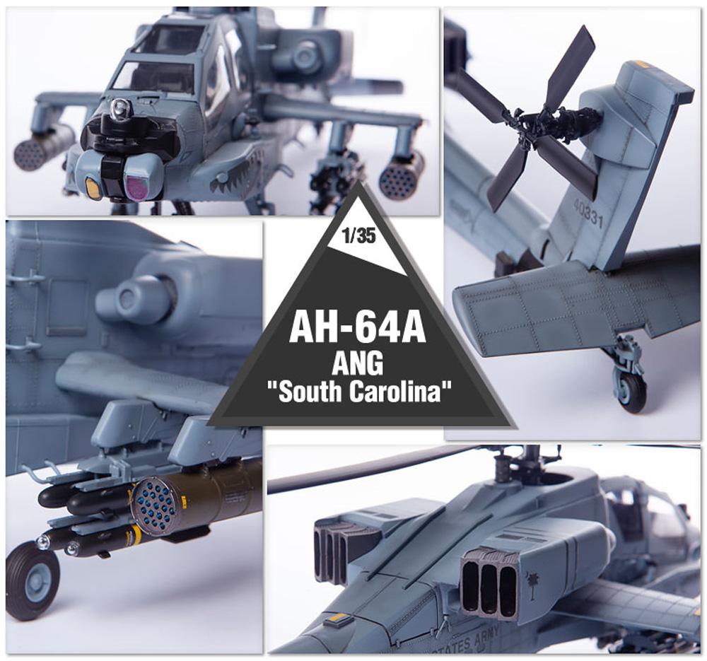 AH-64A アパッチ サウスカロライナ ANGプラモデル(アカデミー1/35 AircraftNo.12129)商品画像_3