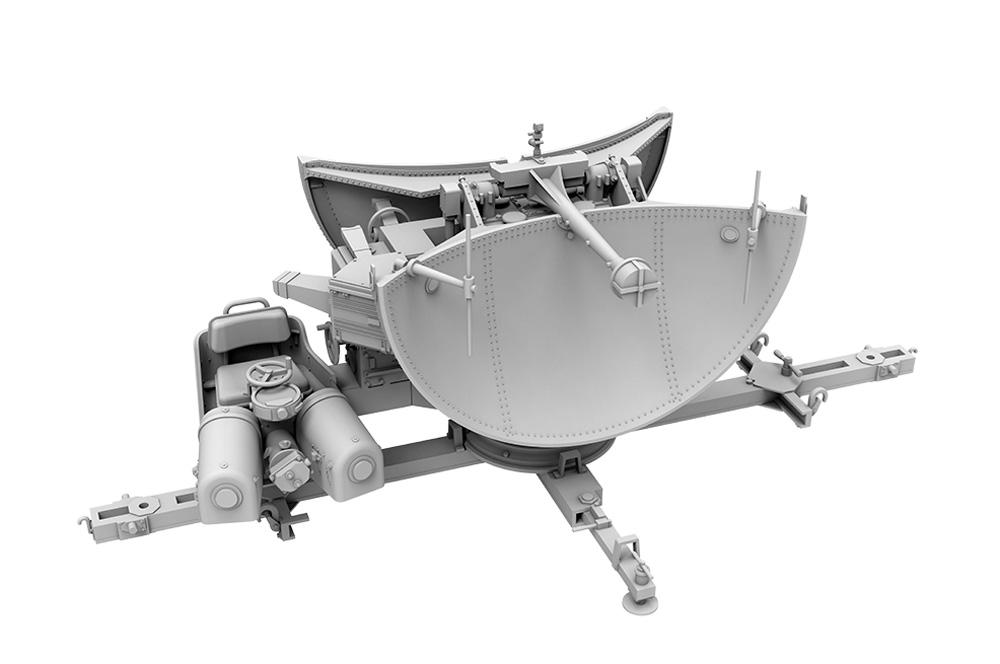 ウルツブルク レーダー FMG 39/FuSE 62Dプラモデル(ダス ヴェルク1/35 ミリタリーNo.DW35014)商品画像_4
