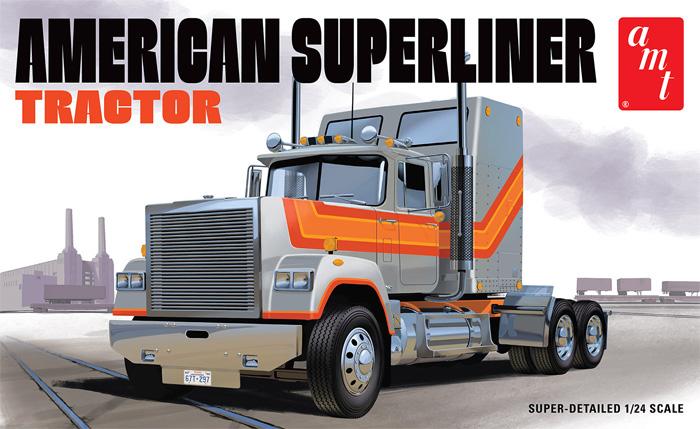 アメリカン スーパーライナー セミトラクタープラモデル(amt1/25 カーモデルNo.AMT1235/08)商品画像