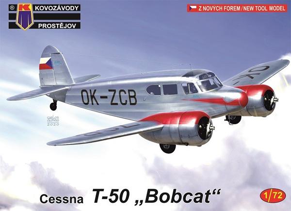 セスナ T-50 ボブキャットプラモデル(KPモデル1/72 エアクラフト プラモデルNo.KPM0171)商品画像