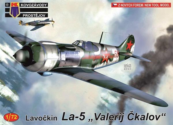 ラボチキン La-5 ヴァレリー・チカロフプラモデル(KPモデル1/72 エアクラフト プラモデルNo.KPM0172)商品画像