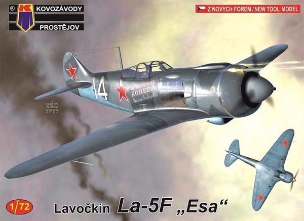 ラボーチキン La-5F エースパイロットプラモデル(KPモデル1/72 エアクラフト プラモデルNo.KPM0175)商品画像