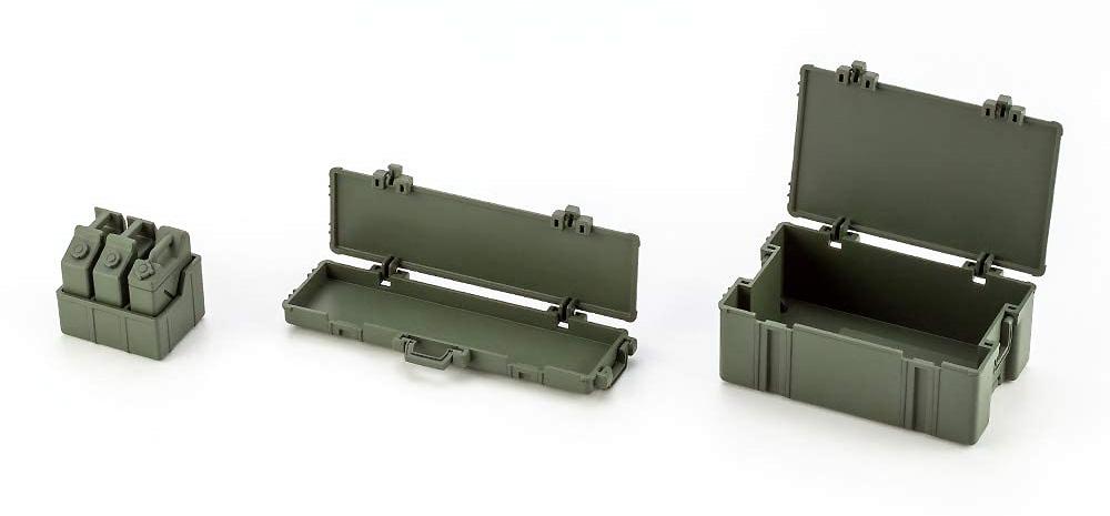 アーミーコンテナセットプラモデル(コトブキヤヘキサギアNo.HG063)商品画像_2