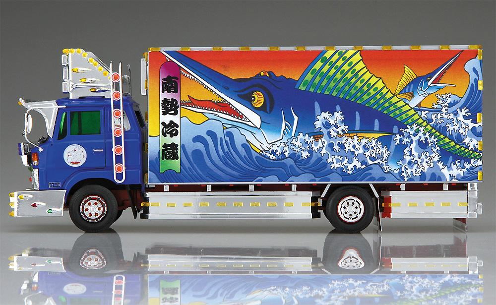 南勢冷蔵 4t冷凍車プラモデル(アオシマ1/32 バリューデコトラ シリーズNo.053)商品画像_3