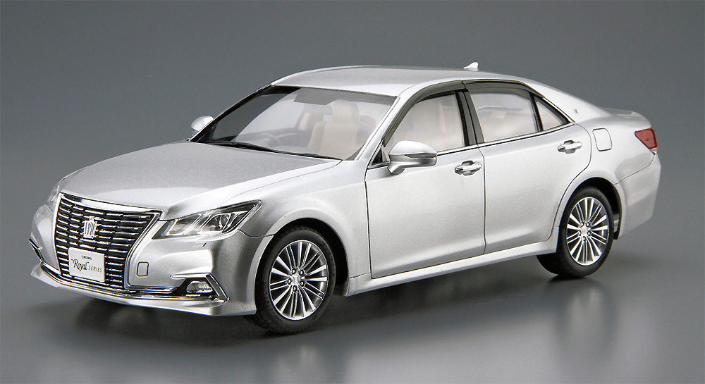 トヨタ GRS210/AWS210 クラウン ロイヤルサルーンG '15プラモデル(アオシマ1/24 ザ・モデルカーNo.121)商品画像_3