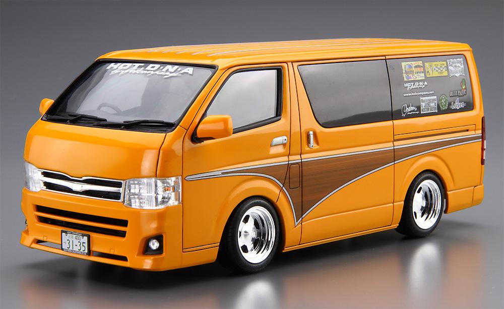 ホットカンパニー TRH200V ハイエース '12 (トヨタ)プラモデル(アオシマ1/24 ザ・チューンドカーNo.011)商品画像_2