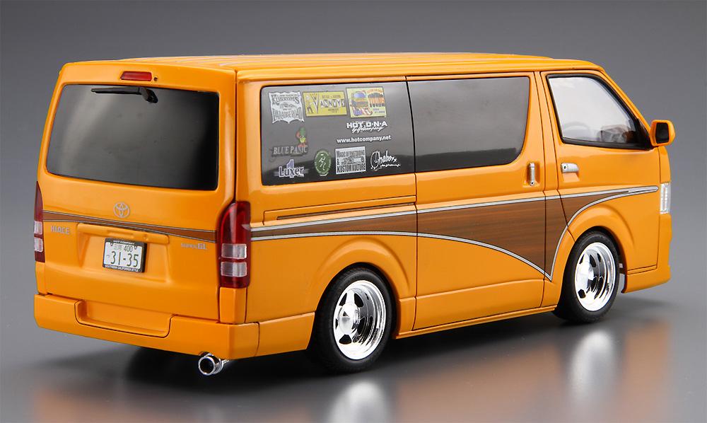 ホットカンパニー TRH200V ハイエース '12 (トヨタ)プラモデル(アオシマ1/24 ザ・チューンドカーNo.011)商品画像_3