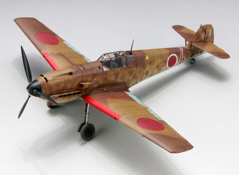 メッサーシュミット Bf109E-7 日本陸軍 w/整備情景セット 2プラモデル(ファインモールド1/48 日本陸海軍 航空機No.48995)商品画像_3