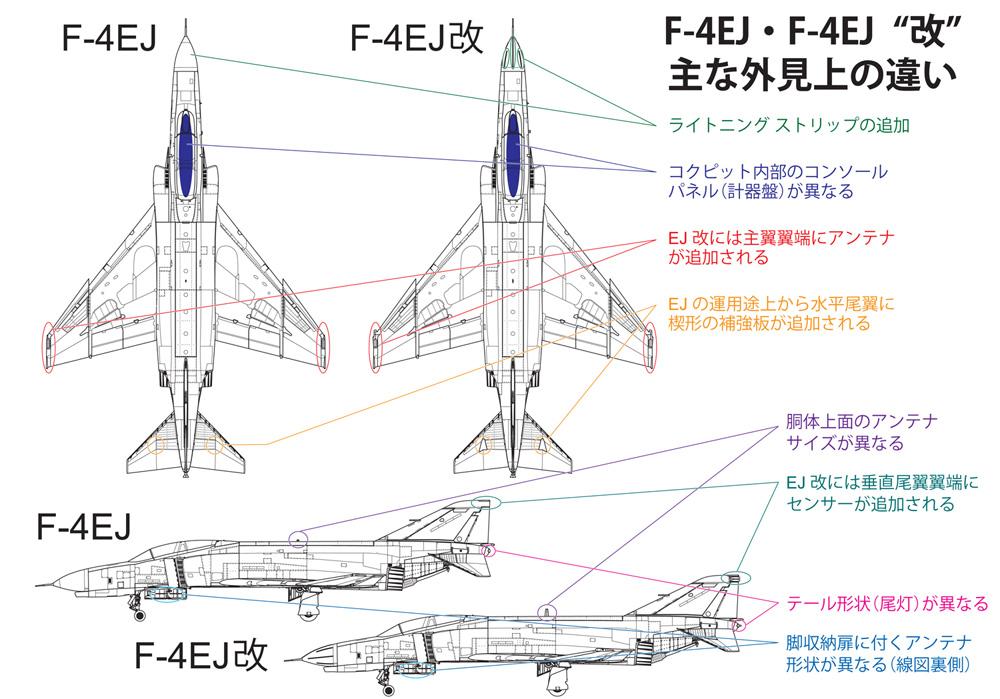 航空自衛隊 F-4EJ改 戦闘機プラモデル(ファインモールド1/72 航空機No.FP038)商品画像_2