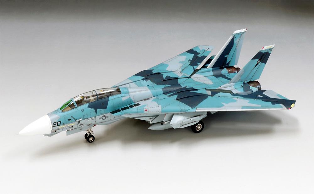 F-14A トムキャット トップガンプラモデル(ファインモールド1/72 航空機No.FP036)商品画像_4