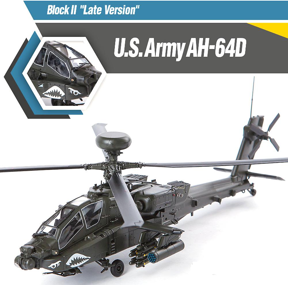 アメリカ陸軍 AH-64D アパッチ ブロック 2 後期型プラモデル(アカデミー1/72 AircraftsNo.12551)商品画像_1