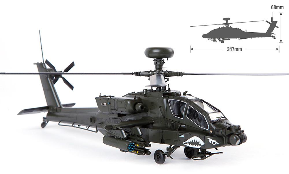 アメリカ陸軍 AH-64D アパッチ ブロック 2 後期型プラモデル(アカデミー1/72 AircraftsNo.12551)商品画像_4