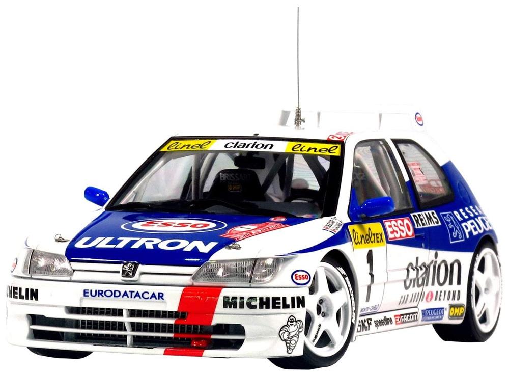 プジョー 306 マキシ 1996 モンテカルロラリープラモデル(NuNu1/24 レーシングシリーズNo.PN24009)商品画像_2