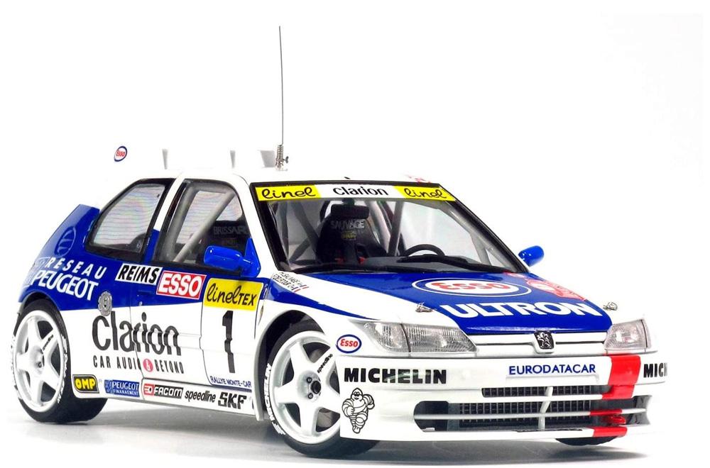プジョー 306 マキシ 1996 モンテカルロラリープラモデル(NuNu1/24 レーシングシリーズNo.PN24009)商品画像_3