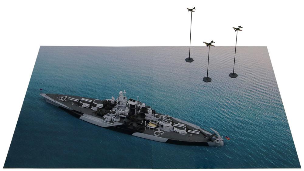 マリアナ諸島の戦い (BB-43 テネシー VS 日本海軍航空隊)プラモデル(ピットロードスカイウェーブ S シリーズNo.SPS005)商品画像_1
