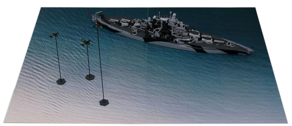 マリアナ諸島の戦い (BB-43 テネシー VS 日本海軍航空隊)プラモデル(ピットロードスカイウェーブ S シリーズNo.SPS005)商品画像_2