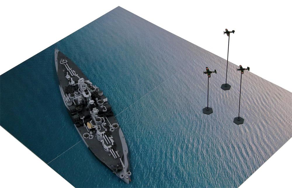 マリアナ諸島の戦い (BB-43 テネシー VS 日本海軍航空隊)プラモデル(ピットロードスカイウェーブ S シリーズNo.SPS005)商品画像_4