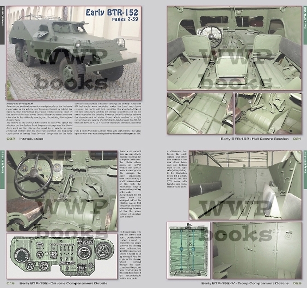 BTR-152 装甲兵員輸送車 本 (WWP BOOKS Red Special museum line No.R089) 商品画像_1