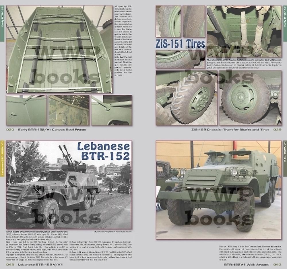 BTR-152 装甲兵員輸送車本(WWP BOOKSRed Special museum lineNo.R089)商品画像_2