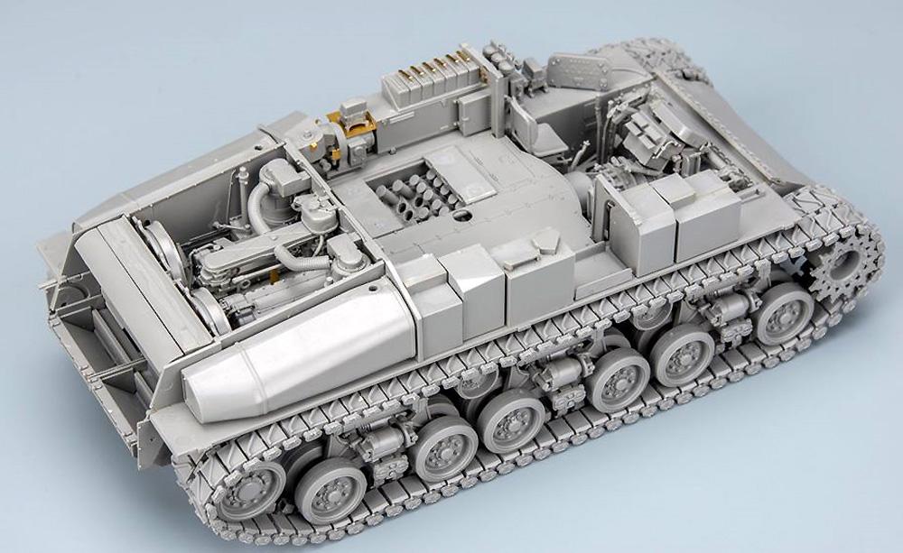 M4A3 76W HVSS シャーマン 中戦車 w/フルインテリアプラモデル(ライ フィールド モデル1/35 Military Miniature SeriesNo.5042)商品画像_4