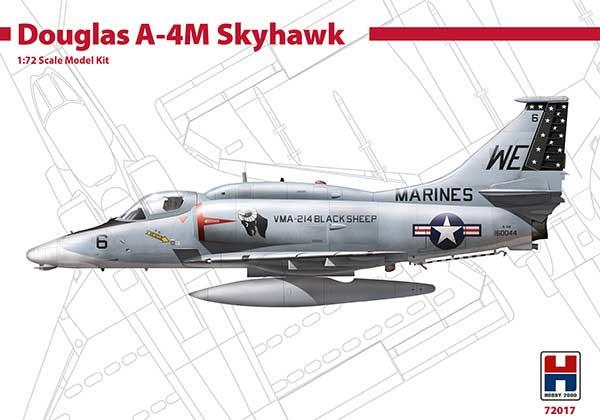 ダグラス A-4M スカイホーク ブラックシーププラモデル(HOBBY 20001/72 モデルキットNo.72017)商品画像
