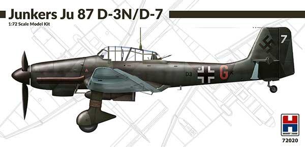 ユンカース Ju87D-3N/D-7 スツーカプラモデル(HOBBY 20001/72 モデルキットNo.72020)商品画像