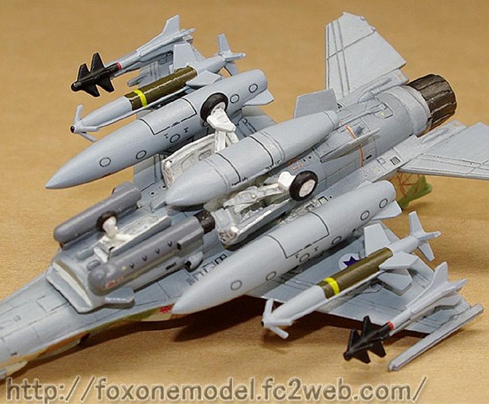 イスラエル空軍 F-16I スーファ ウェポンセットレジン(フォックスワン デザイン1/144 ミリタリーNo.B008)商品画像_1