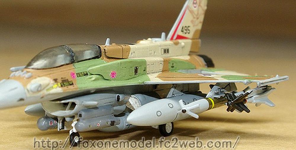 イスラエル空軍 F-16I スーファ ウェポンセットレジン(フォックスワン デザイン1/144 ミリタリーNo.B008)商品画像_2