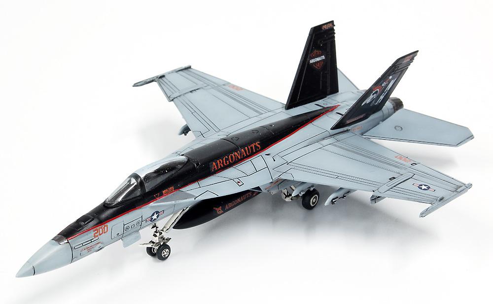 アメリカ海軍 F/A-18E スーパーホーネット アルゴノーツ (単座型)プラモデル(プラッツ航空模型特選シリーズ 144版No.AE144-001)商品画像_2