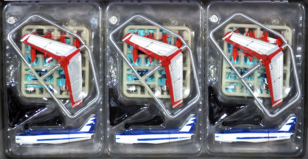 航空自衛隊 F-86F ブルーインパルス 6機セットプラモデル(プラッツ1/144 プラスチックモデルキットNo.SP-150)商品画像_1